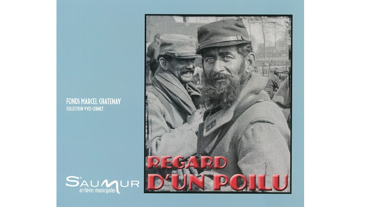 Regard d'un poilu. Fonds Marcel Chatenay, collection Yves Cornet