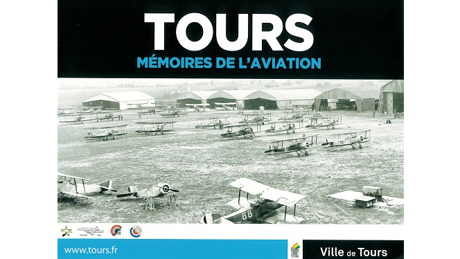 Tours. Mémoires de l'aviation